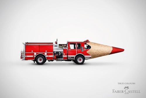 publicidad faber castell colores lápiz