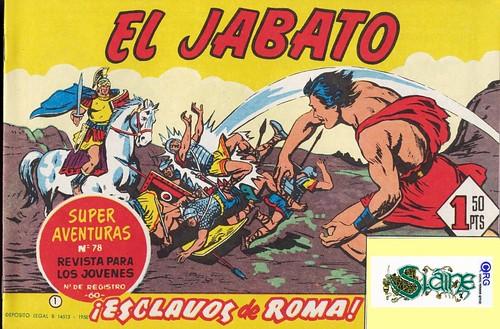 011-El Jabato nº 1- edicion 1958-portada