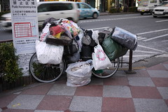 Homeless Person Bicycle Kyoto