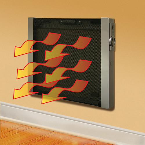 Flat Panel Wall Heater w/ Remote
