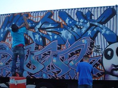 LOVE BILLY ACTION 2 (WERDS NYC) Tags: street nyc ny newyork motion art graffiti goal poetry artist aids diesel fast trains vin mok fonts furious krew in rth werds paited truckhunterz truckhunters