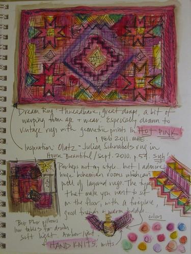 Pink Vintage Rugs