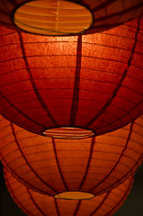 Orbs (ChongoIsDanegerous) Tags: light red orange paper asian fire photography japanese photo warm glow image chinese picture warmth pic burn photograph dane lantern rib wrinkle hillard danehillard nikond7000