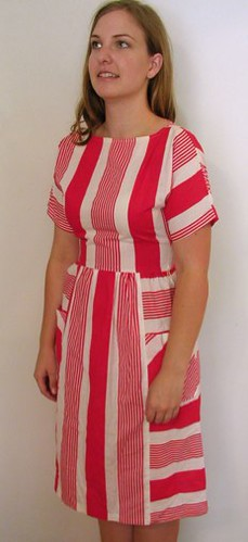 Striped Dress, Etsy.com