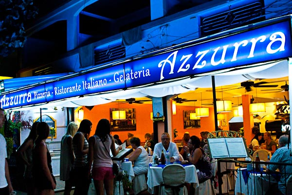 Azzurra Authentic Italian Restaurant