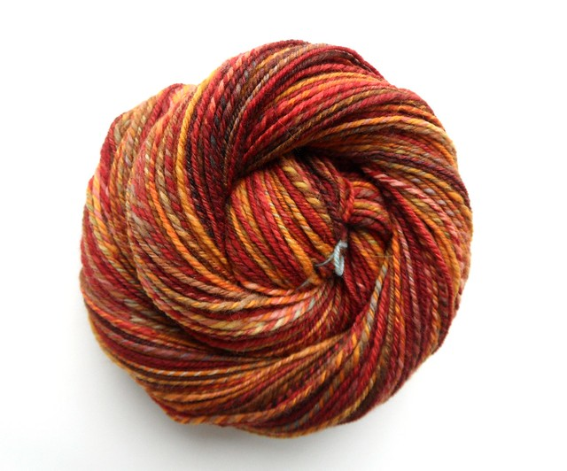 FCK -MB Winter 2011-1-Merino-n-plied-red colorway-275yds-1