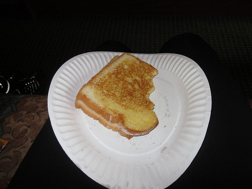 My grilled cheese sandwich