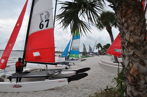 Day 2 of the Charlotte Harbor Regatta, Feb. 5, 2011