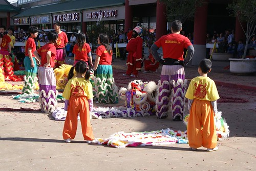 The Smallest Lion Dancers