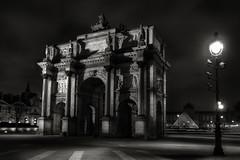 Louvre (Art Photography by F.Best) Tags: paris night noiretblanc louvre nuit hdr photoartistique fabricebest artphotograhybyfbest