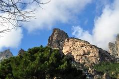 Punta Rossa à l'entrée du Pulischellu