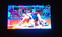 College Wresting (LeahCaitlinV) Tags: ohio cute college boys smiling wow project fun yum floor state michigan wrestling dude 365 hahahaha tackle rolling ohiostate 365days ontopofeachother