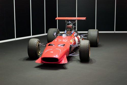 L9771098 Motor Show Festival. Ferrari 246 FL (Formula 2/Tasmania) Dereck Bell, Jackie Ickx (1968)