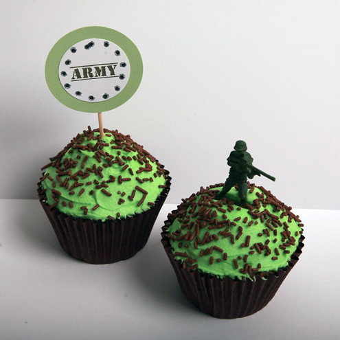 Army Cupcake Kit