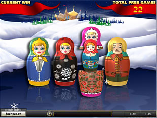 free From Russia with Love slot bonus game 2