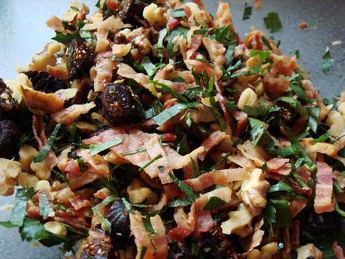 Fig & Bacon Buckwheat Muffin: Goodies