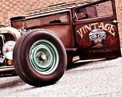 35-365 Rat Rod (RLucas2009) Tags: brick vintage nikon rat rust gimp rod 365 script tilt nationalgeographic 35mmf2 d40