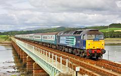 Photo of DRS & Rail Blue At Eskmeals.