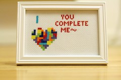 handmade52.7 tetris cross stitch
