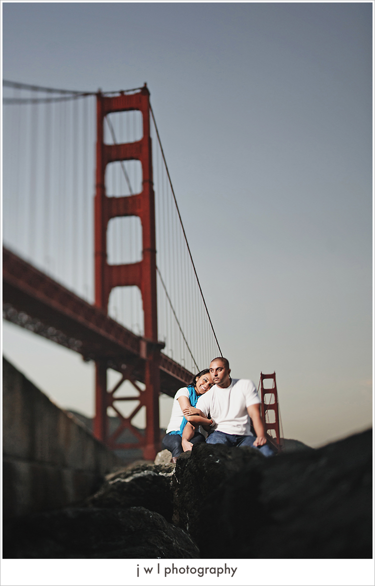 reena_shaun_94 Fort Point Engagement