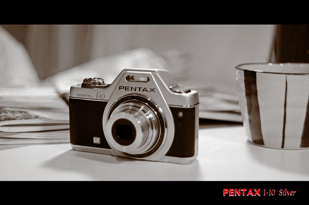首發  PENTAX I-10 銀色經典款~開箱&測試文