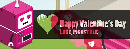 Happy Valentine's Day from Picostyle