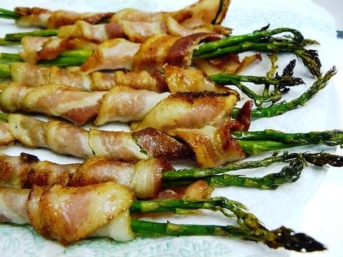 asparagus bacon