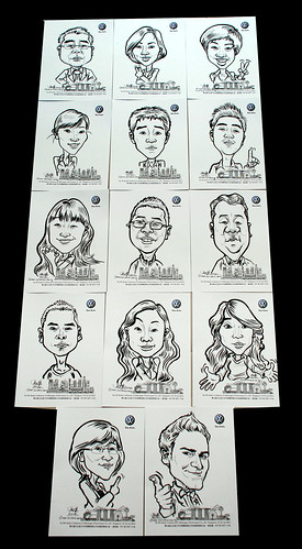 caricatures for Pico Art and Volkswagen - 12