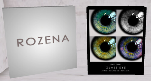 ROZENA ~Glass eye~ Chic boutique edition 90l -4 eyes!!