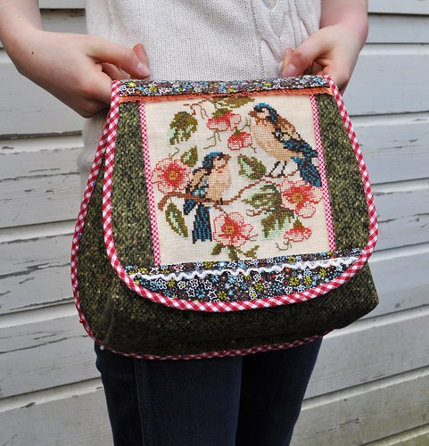 spring birds bag