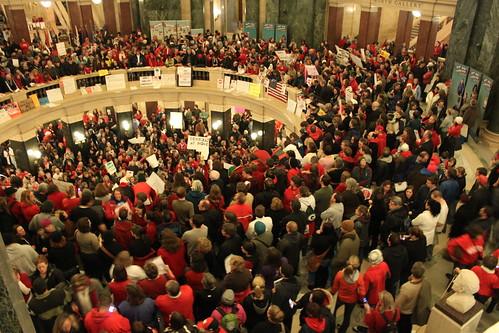 Night Three of Protests under the Rotunda