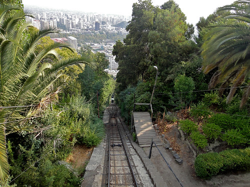 Cable Car to the Top in Santiago