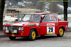 "LANCIA  FULVIA 2C  year 1965 "" 13 Snow Trophy "" (marvin 345) Tags: auto old italy classic cars car vintage italia rally voiture historic oldtimer epoca vecchia vecchie storiche mezzano lanciafulvia worldcars snowtrophy lanciafulvia2c"