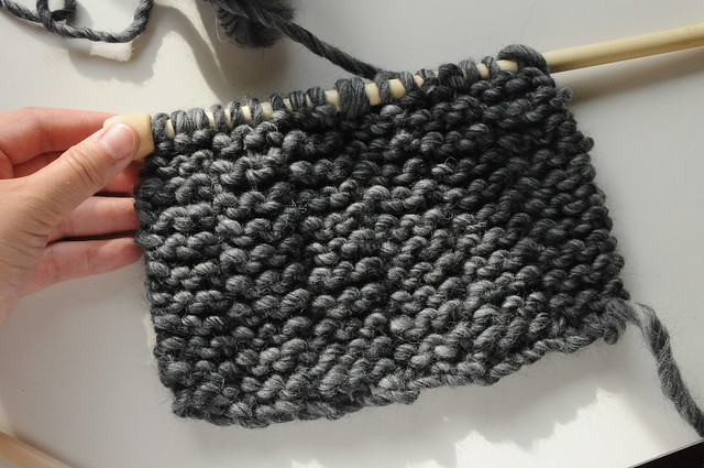 Progress of my chunky snood so far