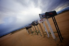 Waiting for mail (h.andras_xms) Tags: sky usa canon landscape desert mail 5d westcoast mkii handras