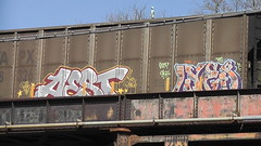 AEST & LYES (BLACK VOMIT) Tags: statue train soldier graffiti ol south hill sailors dirty richmond confederate mc dos va libby soldiers sheppard d30 mayhem freight wh wl lyes aest aest2