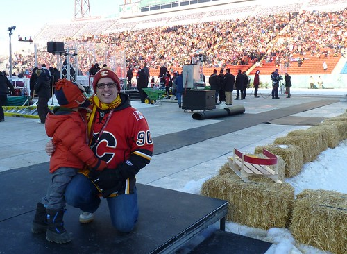 Up Close at Calgary's 2011 Heritage Classic Alumni Game