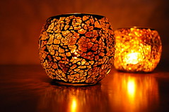 (maryamhelmy) Tags: light orange love glass beauty night hope nikon warm candle warmth candleholder nikond5000