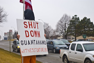 Anti-Torture Vigil - Week 37: Detainee
