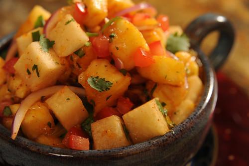 Jicama-Citrus Salad with Chile Lime Vinaigrette-EverydaySouthwest.com