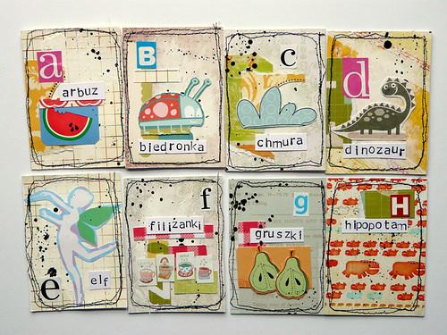 paper magnets - ALPHABET