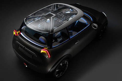 MINI Rocketman Concept pictures and video