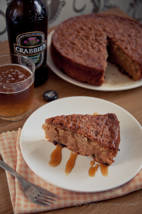 Ginger Beer Cake