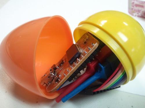 NullSpace Logic Analyser Egg