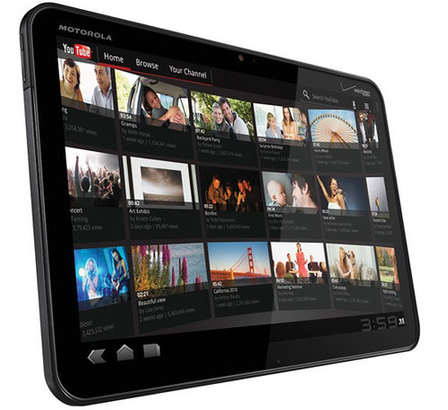 Motorola Xoom Tablet Specs & hands on Preview