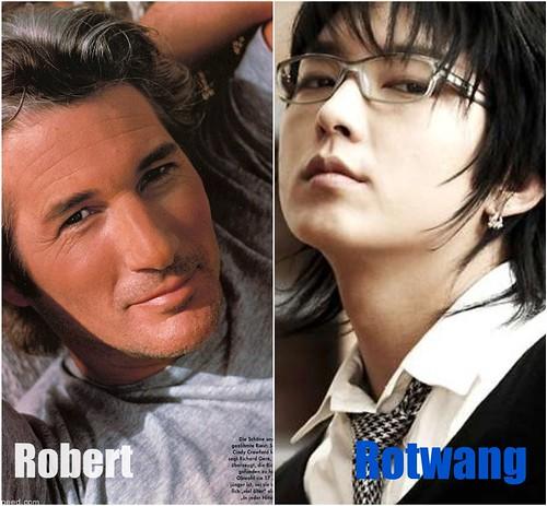 Robert y Rotwang