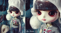 Chibi Risa box moment! o^.^o (Au Aizawa) Tags: fashion japanese doll box chibi dal moment risa topmodel hirako