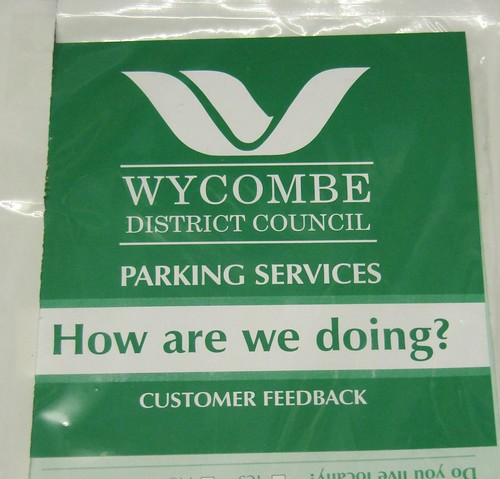 Wycombe District Council Car Park Feedback