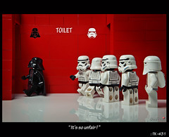 [TK431 story-1st] It's so unfair! (storm TK431) Tags: death star starwars lego darth stormtrooper vader lifeonthedeathstar tk431