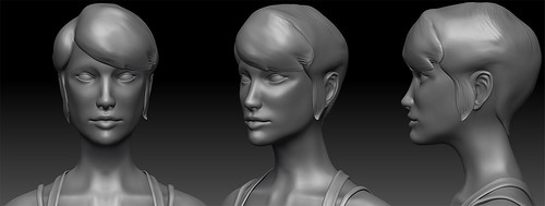 Adventuress Head WIP 2
